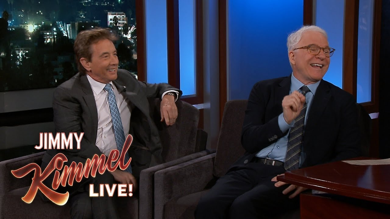 Steve Martin & Martin Short Have Colonoscopy Parties with Tom Hanks
