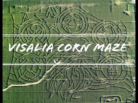 Visalia Corn Maze - DJI Spark