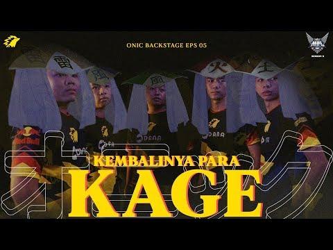 KEMBALINYA PARA KAGE - ONIC BACKSTAGE EPS 05 - MPL S5 WEEK 8