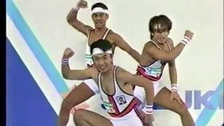 1998 SUZUKI AEROBIC SBS CUP トリオ部門