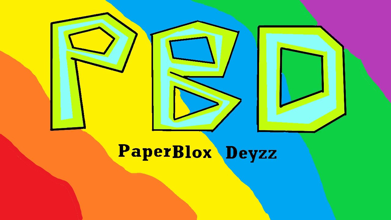 PaperBlox Deyzz Opening -A Roblox Animated Series- by Tender
