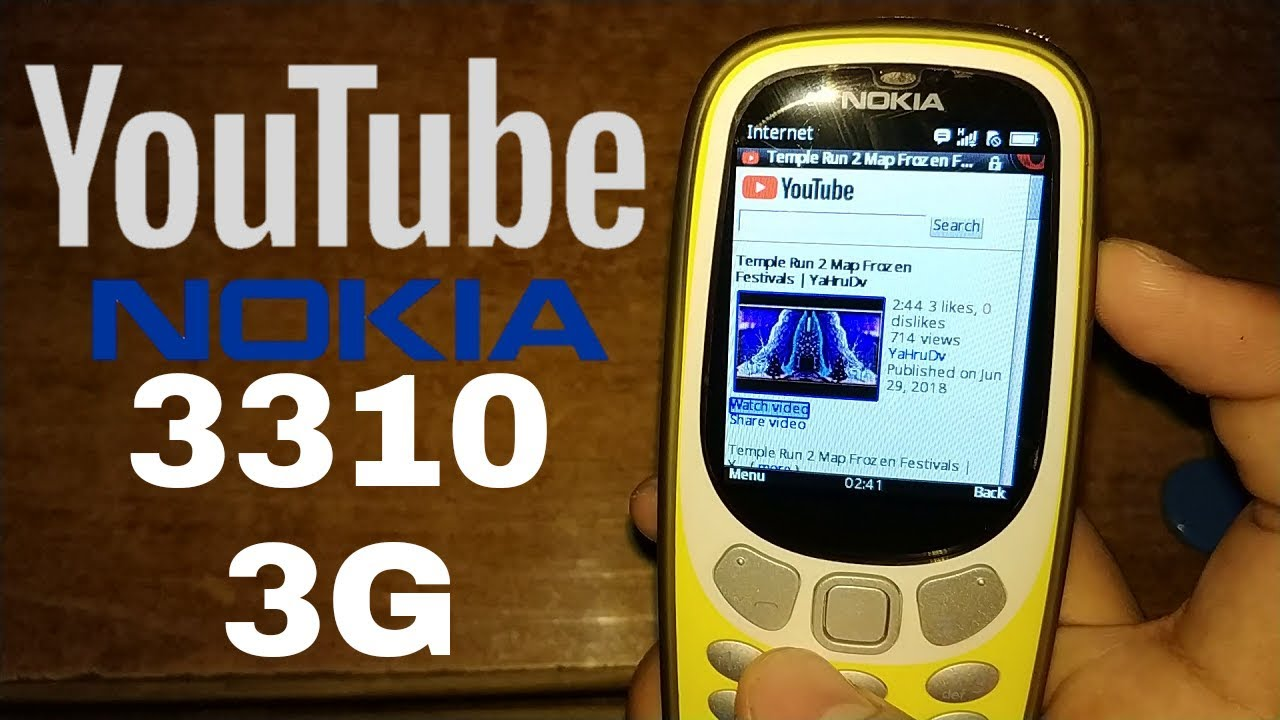 Nokia 3310 3G APN settings & network compatibility in United