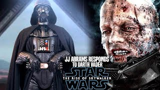 JJ Abrams Responds To Darth Vader! The Rise Of Skywalker (Star Wars Episode 9)