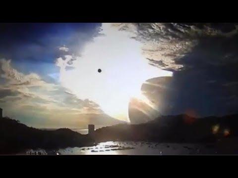25 Juni 2017. Trumpets sounding in Trinidad Tobago, Planets visible.