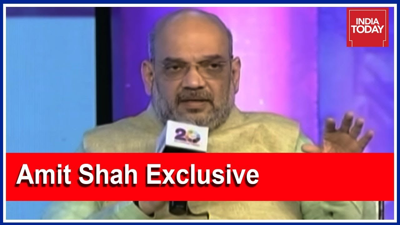 Amit Shah Expresses Confidence In Winning Upcoming State Polls | India Today Exclusive