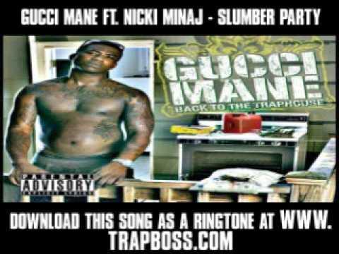 Gucci Mane Ft  Nicki Minaj - Slumber Party [ New Video + Lyrics + Download ]
