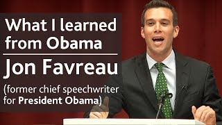 Download What I learned from President Obama | Jon Favreau (speechwriter) | UCD Literary & Historical Society Mp3 and Videos