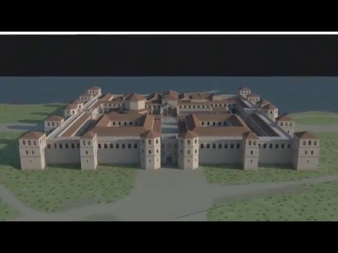 Diocletian's Palace in 300 AD