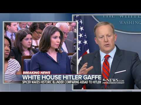 Thumbnail: Sean Spicer in the hot seat after downplaying the horror of the Holocaust
