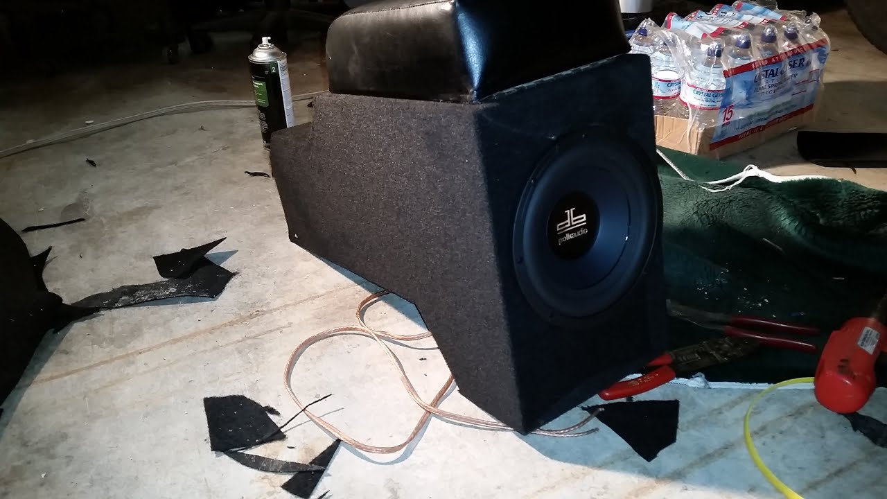 Custom Jeep Wrangler Yj Center Console Subwoofer Box Build