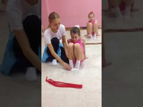 """Детская гимнастика дома . Урок №5 """"Работа со стопами - подьем"""""""