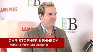 Christopher Kennedy - Interior Designer At 2013 Design Bloggers Conference Los Angeles