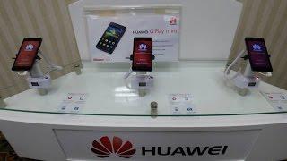 Viendo Los Nuevos Equipos Huawei G Play 4G y G Play Mini 3G en Claro Perú