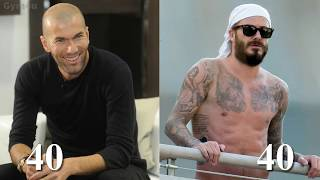 Zinedine Zidane vs David Beckham Transformation ★ 2019