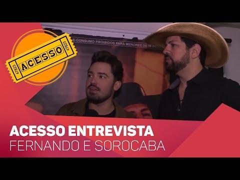 Acesso entrevista: Fernando e Sorocaba - TV SOROCABA/SBT