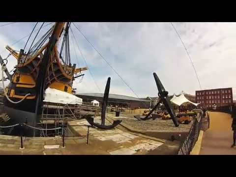 Visit Portsmouth - HMS Warrior - Victory - Mary Rose - Creative Gopro Video