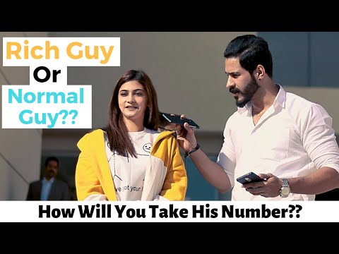 Which do you Prefer, Rich Guy Or Normal Guy? | Bahria University Islamabad