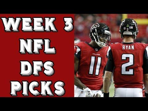 Week 3 NFL DraftKings Picks