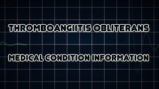 reynold & buerger disease.