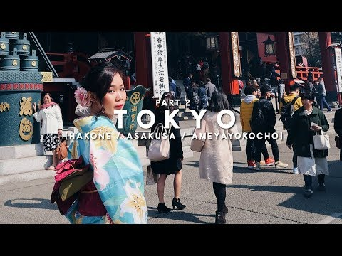 Tokyo Vlog 2 - Private Onsen + Kimono | Travel Time