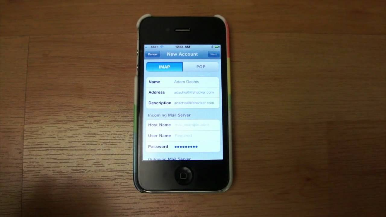 How to Set Up an Email Account on Your iPhone