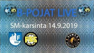 ÅIF/PSS B-pojat -  Hawks (SM-karsintapeli 14.9.2019)