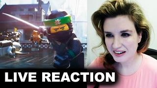 The LEGO NINJAGO Movie Trailer REACTION
