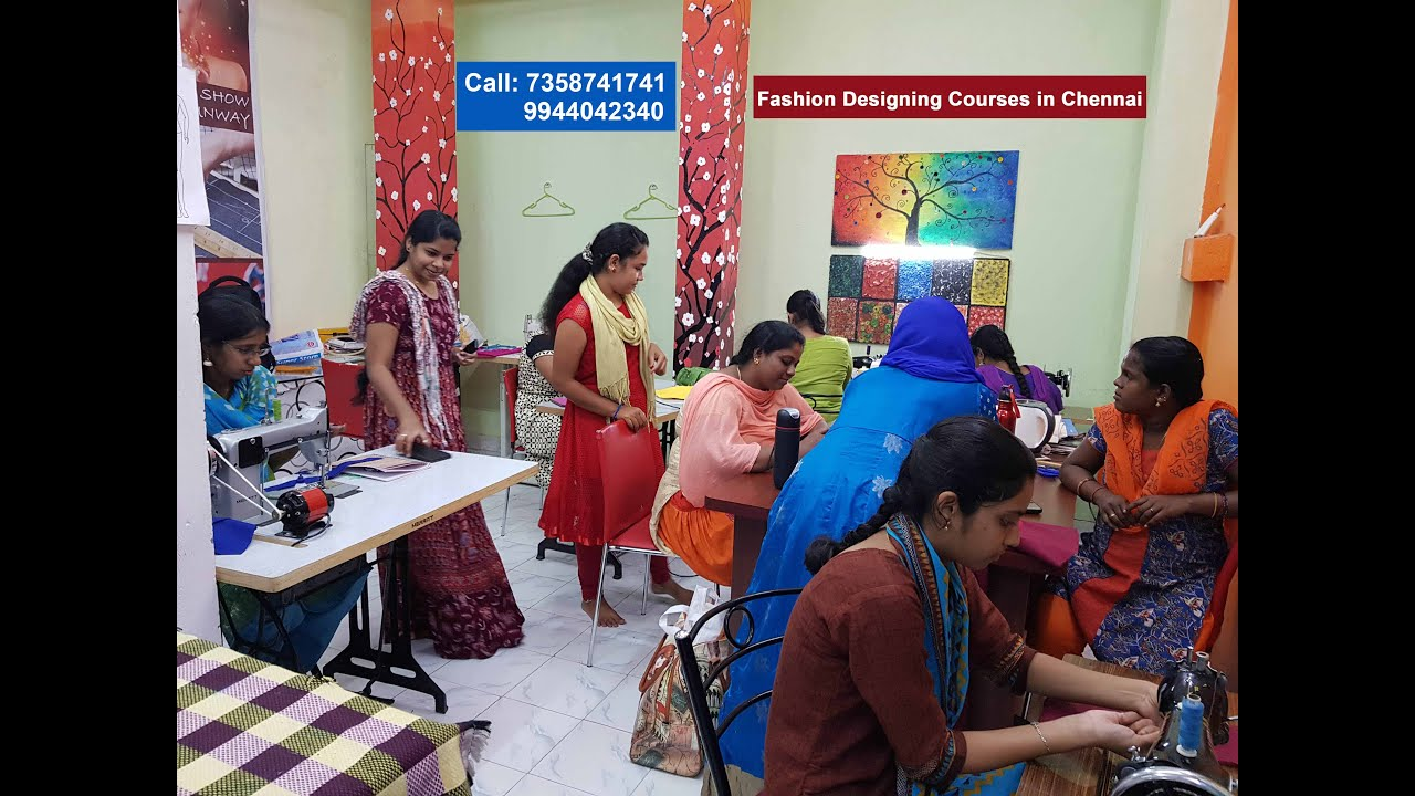 Design World Fashion Design Tailoring And Computer Training Institute In Chennai