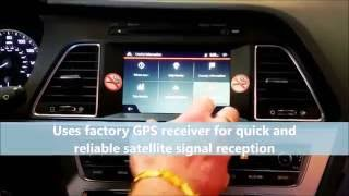 [UNAVI] Navigation kit for Hyundai Sonata 2015 & Up w/OEM Android Auto