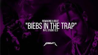 Making a Beat: Travis Scott - Biebs In The Trap (Remake)