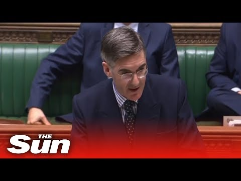 Jacob Rees-Mogg Responds To The Shadow Leader Of The House During His House Business Statement