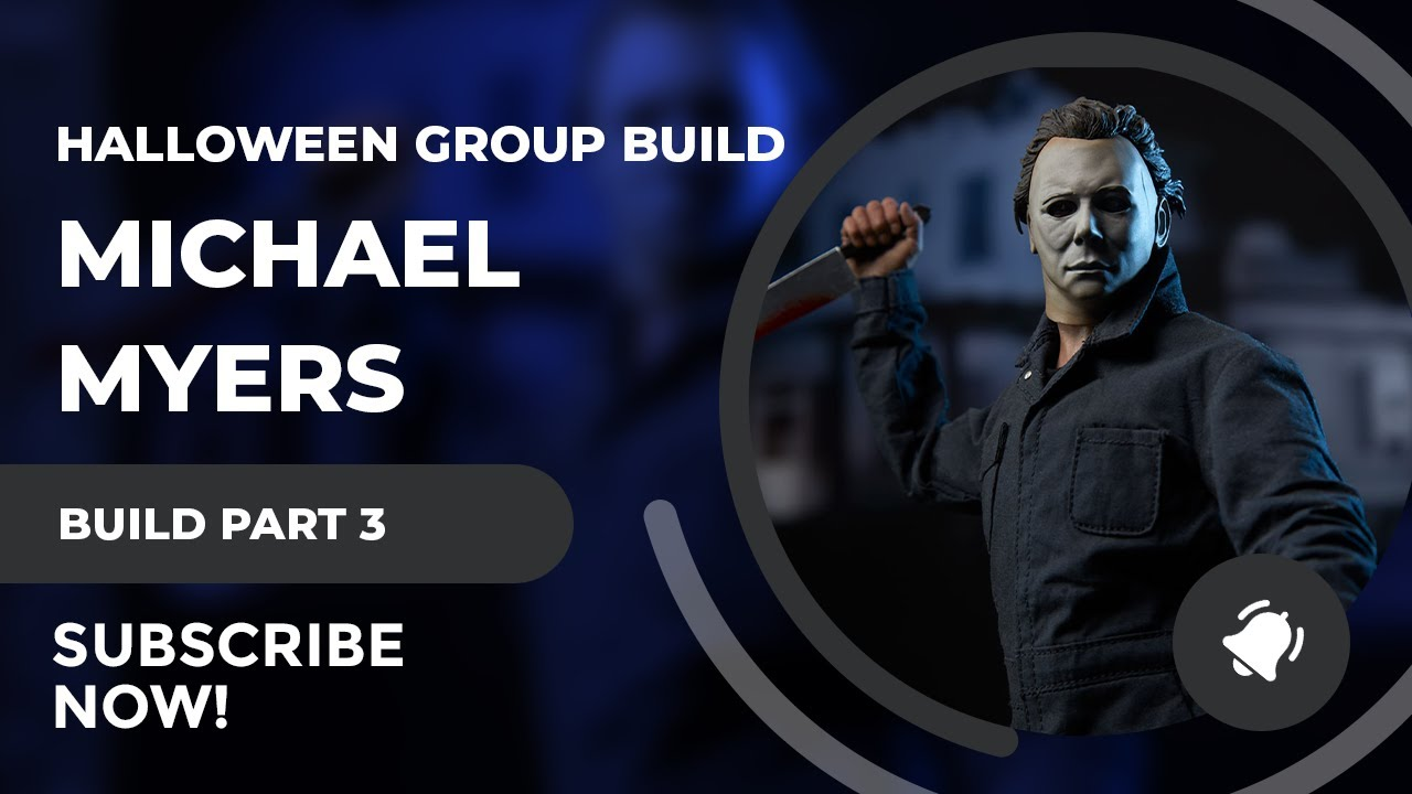 SciFiantasy 2017 Halloween Group Build Part 3 - Moebius Michael Myers 1/8 Figure