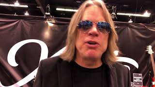 Andy Timmons @NAMM 2018