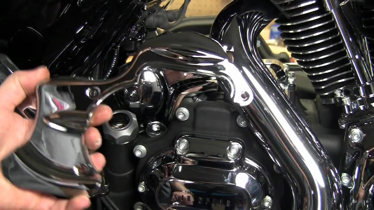 Kuryakyn Garage Street Glide Engine Chrome Install Youtube
