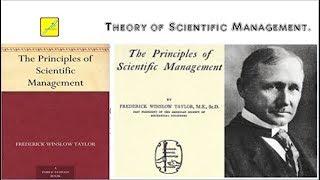 scientific management.