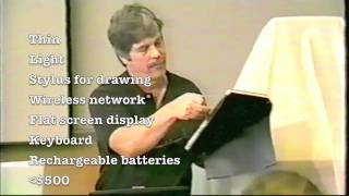 Alan Kay's Dynabook -- Rare NHK video