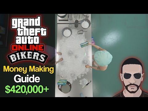 GTA Online Bikers Guide - How To Make The Most Cash Possible