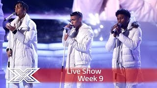 5 After Midnight sleigh with East 17's Stay Another Day | Semi Final | The X Factor UK 2016