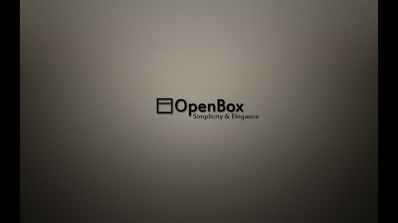 HOWTO: arch linux openbox setup