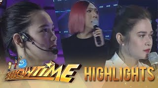 "It's Showtime Miss Q & A: Vice mediates between ""Ate Girl"" and Bela"