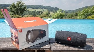 JBL Xtreme 2 - unboxing & first impressions [3D binaural audio]