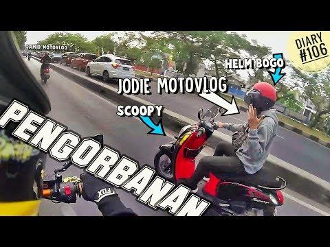 Penyamaran Jodie Motovlog Di Bandung, 4 Random Spotted  Dalam Sehari Di Jalan (Diary #106)