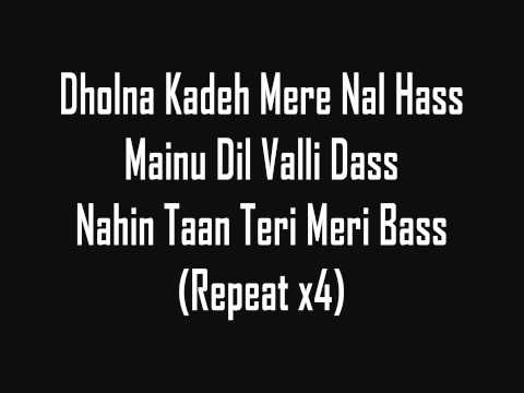 Mix - Tunak Tunak Tun - Daler Mehndi (lyrics)