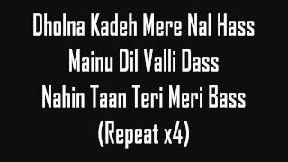 Repeat youtube video Tunak Tunak Tun - Daler Mehndi (lyrics)