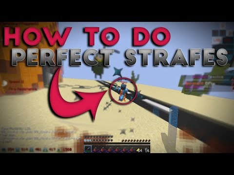 PvP Strafing Tutorial (how to strafe)