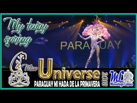 MISS UNIVERSE 2018 - MISS PARAGUAY - MY FAIRY SPRING