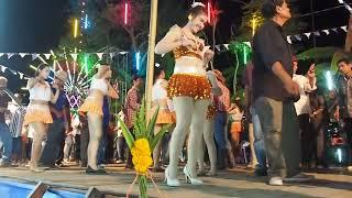【#PhetchaburiDance】#รำวงเพชรบุรี✿วอนลมฝากรัก❀ตะวันลับฟ้า❁ใครลืมใครก่อน❂learn thai