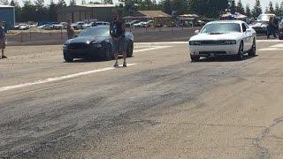 Dodge Challenger RT Shaker vs Mustang GT 5.0