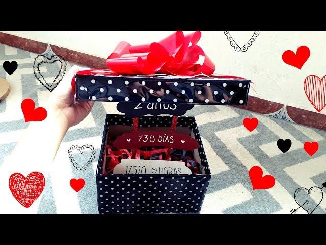 Regalo Para Mi Novio San Valentín Cómo Hacer Paso A Paso