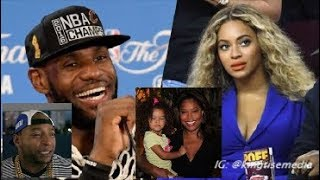 LeBron James Exposed For Cheating w/ Beyonce & Hiding Kids Like Drake In Mom